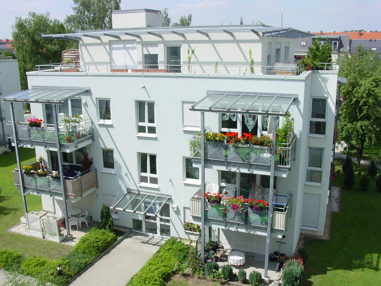 penthouse wohnung mit umlaufender dachterrasse in chemnitzgablenz - Penthousewohnung Mit Dachterrasse